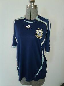 ARGENTINA 2004 2006 AWAY FOOTBALL SHIRT SOCCER JERSEY ADIDAS sz L AFA