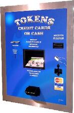 American Changer Ac2207 Cash Coin Amp Credit Card 11200 Token Dispenser