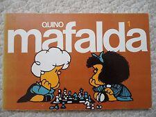 MAFALDA 1~Spanish Comics/Cartoons~QUINO~PB~1984~EDITORIAL LUMEN~