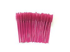 200 Pink Disposable Eyelash Brush Mascara Wands Extension Applicator Makeup