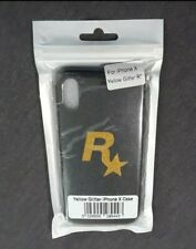 ***BRAND NEW*** Official Rockstar Games BLACK AND YELLOW iPhone X Case (iPhoneX)