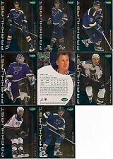 2001-02 Parkhurst by ITG St. Louis Blues Regular Team Set (8)