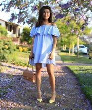 Zara Casual Striped Regular Size Dresses for Women
