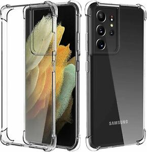 Samsung Galaxy S10 S20 S21+ ULTRA 5G S20FE Note Case Shockproof Gel Clear Cover