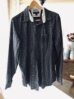 Banana Republic mens Long sleeve button down shirt Plaid XL