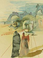 Salvador Dali, Divine Comedy, Purgatory Canto 20: Avarice & Prodigality, Woodcut