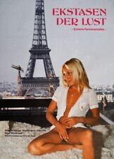 EKSTASEN DER LUST Natascha Delonge Sexfilm Filmplakat A1 GEROLLT 70er