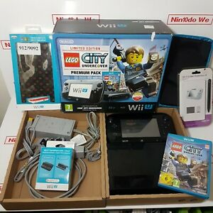Nintendo Wii U Console 32GB Limited Edition LEGO City Undercover+New accessories