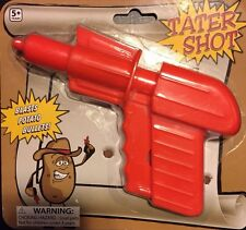 NEW Tater Shot Toy Potato Gun Blasts Potato Pellet Bullets