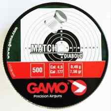 1 BOITE DE 500 PLOMBS GAMO CAL 4,5 POIDS 0,49 GR NF