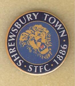 SHREWSBURY TOWN FC - Lot 74 - Vintage enamel pin badge collection - football