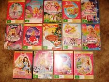 BARBIE MOVIES for children bulk lot movie dvd's 14 assorted titles