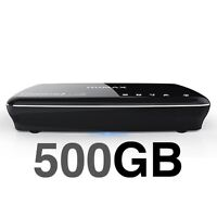 Freesat+ HDHumax HDR-1100S Black 500GB PVR Freetime 7 Day Catch Up TV