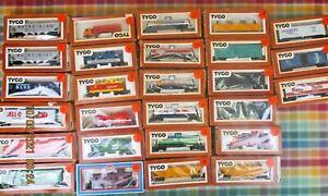Vintage Lot Tyco HO Railroad Box Tanker Hopper ++ Cars - Pick 6 for $37.99 + S&H