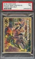 1942 WAR GUM (R164) #57 DUTCH HERO DESTROYS PSA 7 *ADT3421