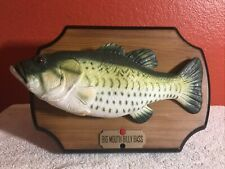 Big Mouth Billy Bass Singing Fish (Gemmy 1999) Take Me To The River/Don't Worry