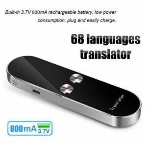 Translator Voice Smart Real Time Language Portable Languages Translation Device