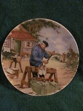 Royal Schwabap - Holland - Hand Decorated Ter Steege Collecter Plate Shoe Maker