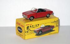 DAN TOYS  Peugeot 204 Cabriolet Rouge (Portes et capot ouvrants) DAN 218
