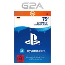 PSN 75 EURO DE - Playstation Network €75 EUR Card Guthaben Download Code PS4 PS3