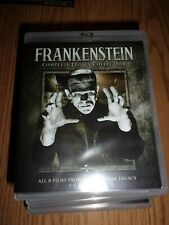 ORIGINAL LEGACY: FRANKENSTEIN COLLECTION - 8 FILMS BLU-RAY- VERY GOOD CONDITION!