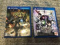 Dragon's Crown , Accel World VS Sword Art Online vita game 2pcs set