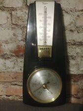 Vintage Taylor Weather Station Thermometer Barometer Bakelite Glass