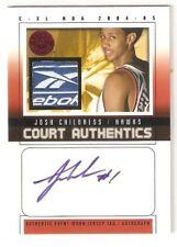 JOSH CHILDRESS 2004-05 E-XL Court Authentics Patch Reebok ROOKIE AUTOGRAPH #1/5