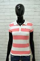 Polo TOMMY HILFIGER Donna Taglia Size XS Maglia Camicia Shirt Woman Cotone Righe