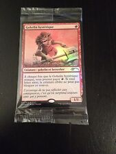 MTG MAGIC CARTE FNM FOIL DCI FRENZIED GOBLIN (FRENCH GOBELIN HYSTERIQUE) NM