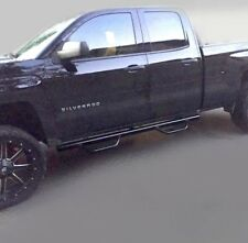 Gloss fit 07-18 Chevy Silverado GMC Sierra Extended Cab Running Boards Nerf Bar
