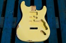 Eden Relic'd Series Empress Body Tremolo for Strat Guitar Vintage White