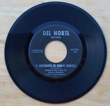 Scarce Mariachi Del Norte De Bennie Martinez - El Asesinato De John F. Kennedy
