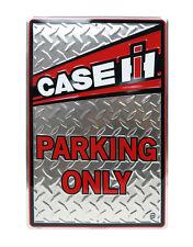 "Case Ih 18"" Parking Only Metal Sign"