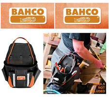 BAHCO 2 Pocket Tradesman Super Tough Nail/Fixings Tool Belt Pouch, 4750-2PP-1