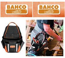 Bahco 2 Bolsillo Comerciante SUPER RESISTENTE CLAVO / Accesorios Herramienta