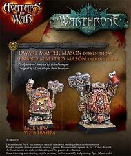 AVATARS OF WAR -  AOW91 Dwarf Master Mason *Warhammer Style*