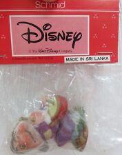 "Vintage Walt Disney Dwarfs Schmid Ceramic Porcelain Ornament - Grumpy 2.5"""