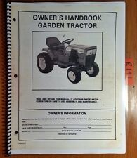 Murray 16 18 HP Twin Lawn Garden Tractor Owner Operator's Manual + Parts Manual