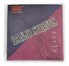 Banjo Strings- set of 5 strings loop ends high quality
