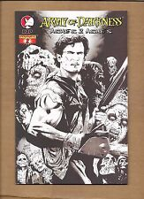 Army Of Darkness Ashes 2 Ashes #2 Greg Land Black White Variant Evil Dead