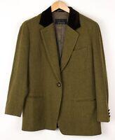Bogner Damen Wolle Freizeit Blazer Jacke Mantel Größe M (US12 H40) BDZ498
