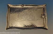 Tiffany & Co. Sterling Silver Tray (Business Card) Hand Hammered w/Beetle #0664