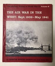Military History Of World War II Vol 6 Air War In The West Trevor Nevitt Dupuy