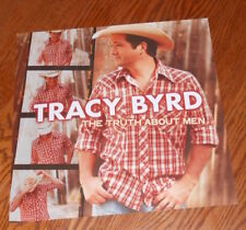 Tracy Byrd The Truth About Men Poster 2-Sided Flat 2000 Promo 12x12 RARE Country