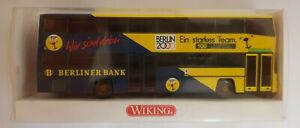 Wiking 7310340 MAN Berliner DD Bus 2000 1:87 Neu u. OVP