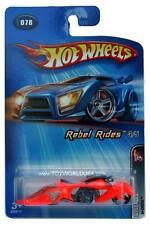 2005 Hot Wheels #078 Rebel Rides W-Oozie orange