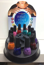 China Glaze - WHAT'S YOUR COLOR? Collection of 12 colors .5oz - No Display