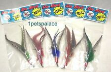 5 guinea REFILLS for Da Bird feather wand cat toy toys refill GO CAT free ship