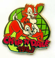 Disney DS Countdown to the Millennium Series #82 Chip & Dale Pin